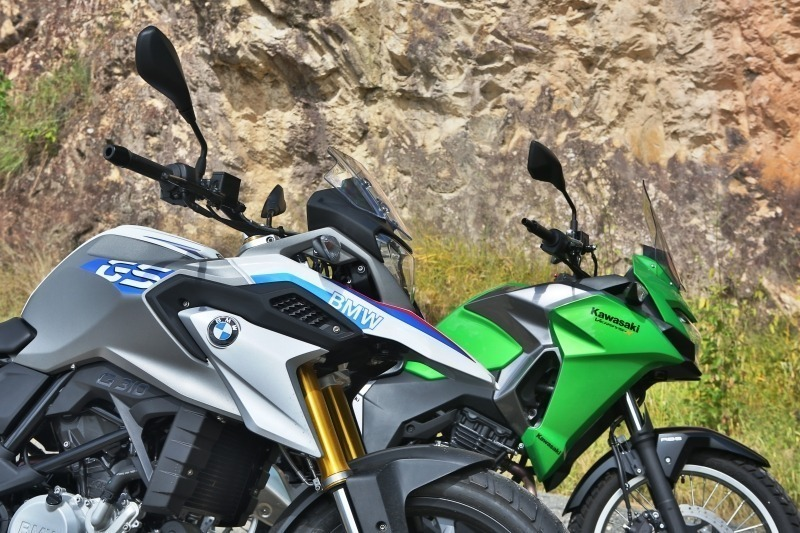 Duas Rodas Vídeo Teste Comparativo Bmw G310gs X Kawasaki Versys X